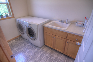 A stinky high efficiency front loading washer…