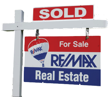 Sold Sign Real Estate REMAX