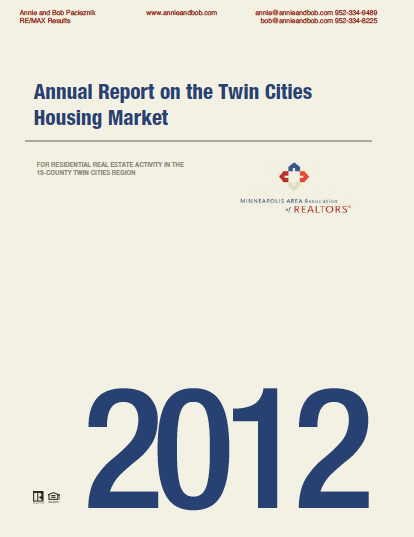 2012 Annual Housing Report