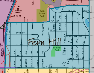 Fern Hill Neighborhood St Louis Park MN